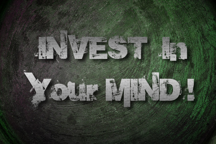 Invest In Your Mind Concept