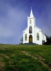 Old Historic 19th century Church