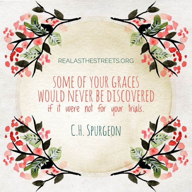 watercolor flowers and c.h. spurgeon quote