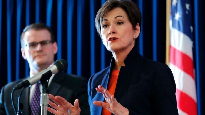 Iowas Republican Governor Kim Reynolds did the right thing